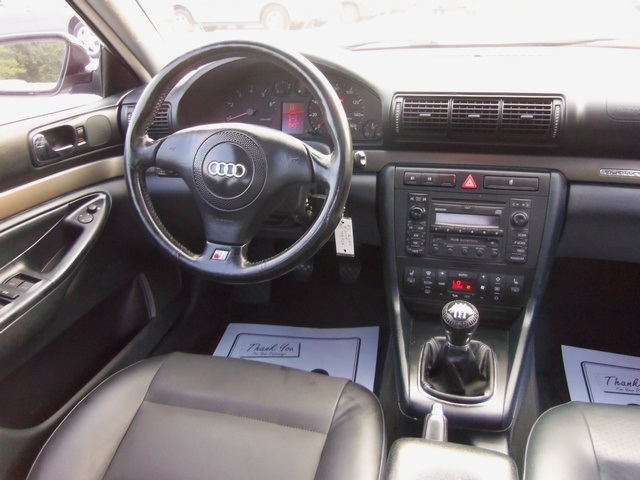 2001 audi a4 1 8t quattro for sale in cincinnati oh. Black Bedroom Furniture Sets. Home Design Ideas