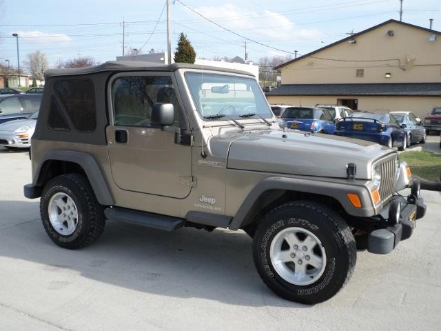 2005 jeep wrangler sport for sale in cincinnati oh stock 11575. Black Bedroom Furniture Sets. Home Design Ideas