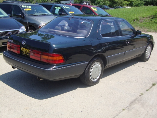 1990 lexus ls 400 for sale in cincinnati oh stock 10017. Black Bedroom Furniture Sets. Home Design Ideas