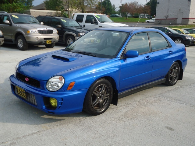 2002 subaru impreza wrx for sale in cincinnati oh stock. Black Bedroom Furniture Sets. Home Design Ideas