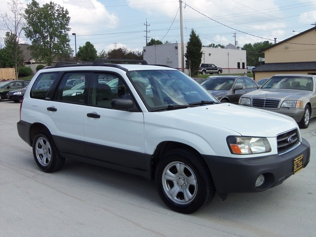 2004 subaru forester x for sale in cincinnati oh stock 11258. Black Bedroom Furniture Sets. Home Design Ideas