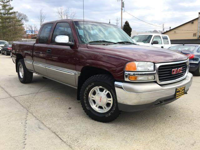 2001 gmc sierra 1500 slt 4dr extended cab. Black Bedroom Furniture Sets. Home Design Ideas