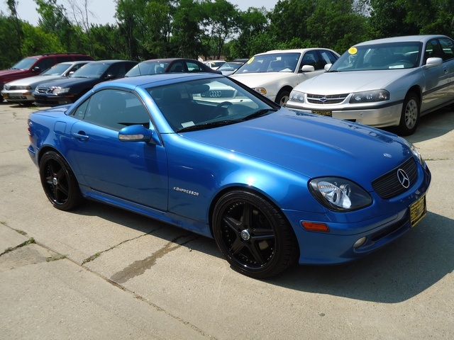 2001 MercedesBenz SLK230 for sale in Cincinnati OH  Stock  10999