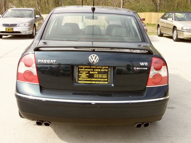 2004 volkswagen passat w8 4motion for sale in cincinnati oh stock 11230. Black Bedroom Furniture Sets. Home Design Ideas