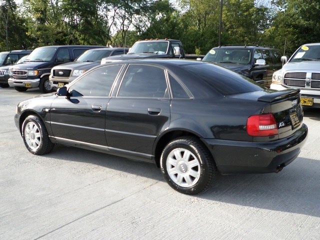 2000 audi a4 1 8t quattro for sale in cincinnati oh stock 11360. Black Bedroom Furniture Sets. Home Design Ideas