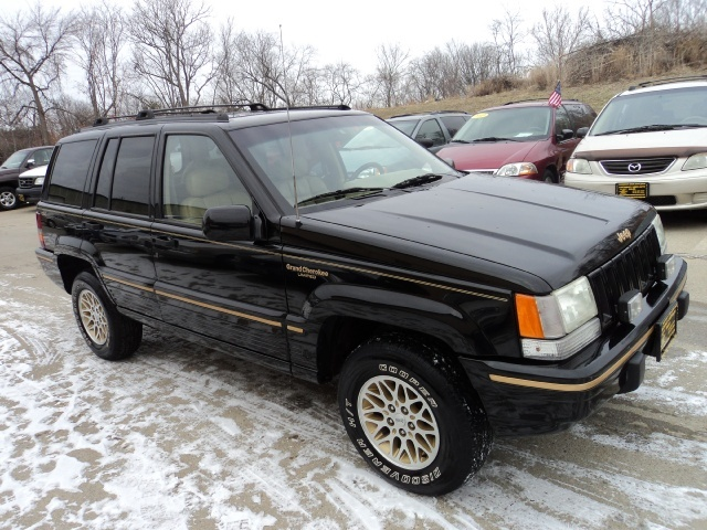 1995 jeep grand cherokee limited for sale in cincinnati oh stock 10506. Black Bedroom Furniture Sets. Home Design Ideas