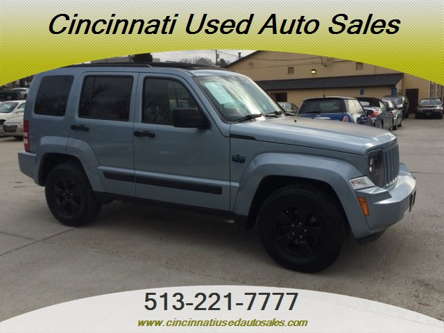2012 jeep liberty arctic edition for sale in cincinnati oh stock 11830. Black Bedroom Furniture Sets. Home Design Ideas