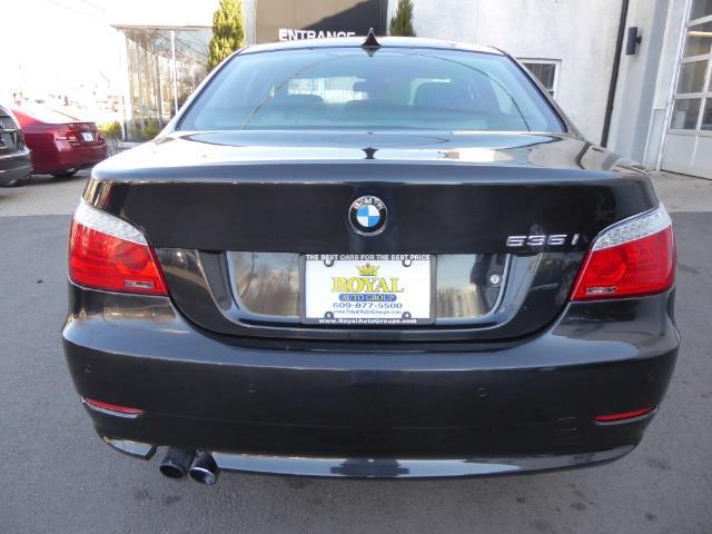 2009 BMW 535xi,NAV,PREM PKG,,TRIPLE BLACK,SILVER CERTIFID - Photo 4 - Burlington, NJ 08016