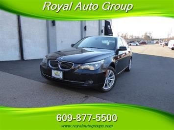 2009 BMW 535xi,NAV,PREM PKG,,TRIPLE BLACK,SILVER CERTIFID - Photo 1 - Burlington, NJ 08016