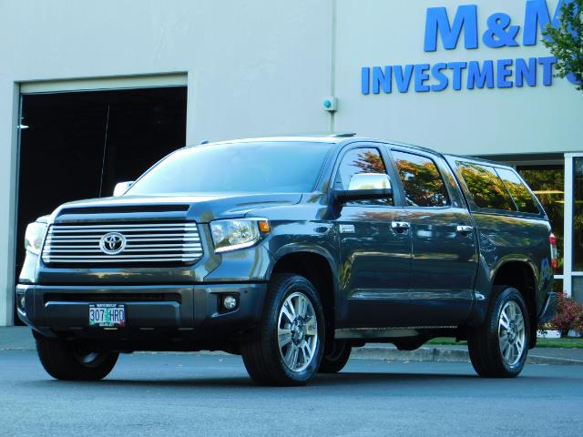 2015 Toyota Tundra PLATINUM / CrewMax / 4WD / FULLY LOADED / 1-OWNER - Photo 49 - Portland, OR 97217