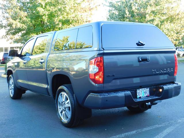 2015 Toyota Tundra PLATINUM / CrewMax / 4WD / FULLY LOADED / 1-OWNER - Photo 7 - Portland, OR 97217
