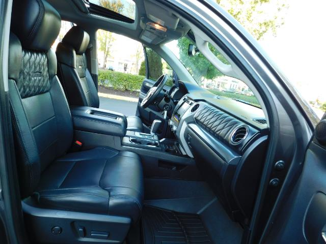 2015 Toyota Tundra PLATINUM / CrewMax / 4WD / FULLY LOADED / 1-OWNER - Photo 17 - Portland, OR 97217