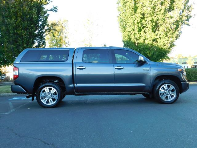 2015 Toyota Tundra PLATINUM / CrewMax / 4WD / FULLY LOADED / 1-OWNER - Photo 4 - Portland, OR 97217