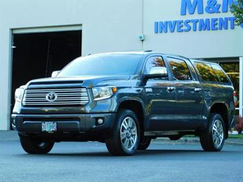 2015 Toyota Tundra PLATINUM / CrewMax / 4WD / FULLY LOADED / 1-OWNER Truck