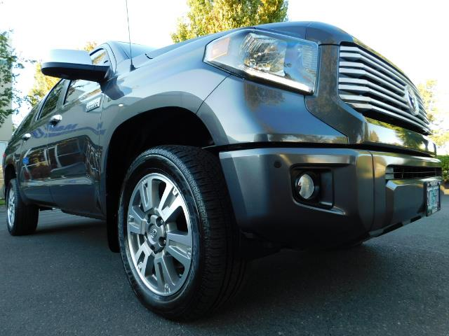 2015 Toyota Tundra PLATINUM / CrewMax / 4WD / FULLY LOADED / 1-OWNER - Photo 10 - Portland, OR 97217