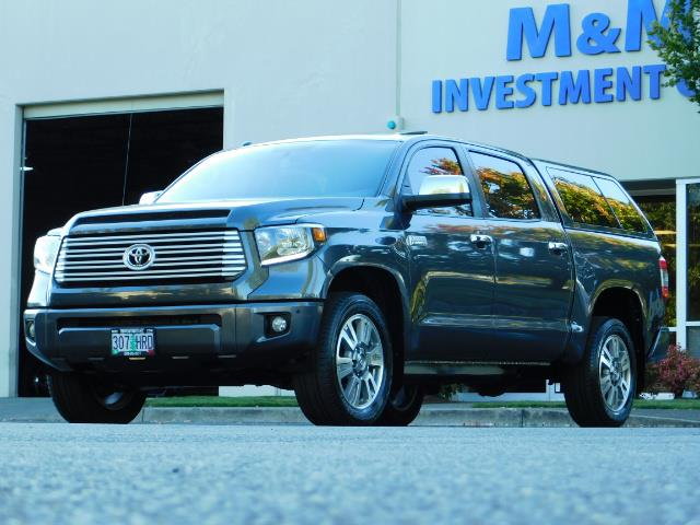 2015 Toyota Tundra PLATINUM / CrewMax / 4WD / FULLY LOADED / 1-OWNER - Photo 50 - Portland, OR 97217