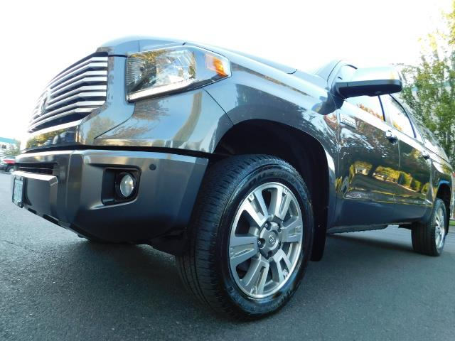 2015 Toyota Tundra PLATINUM / CrewMax / 4WD / FULLY LOADED / 1-OWNER - Photo 9 - Portland, OR 97217