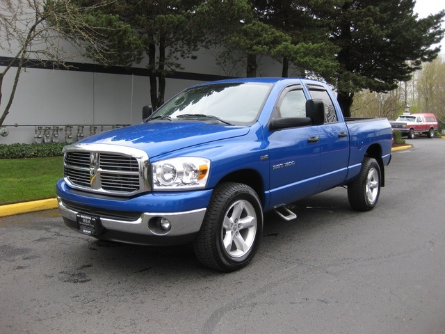 2007 dodge ram 1500 slt hemi big horn 4x4 crew cab. Black Bedroom Furniture Sets. Home Design Ideas
