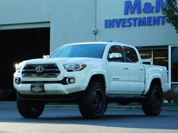 2017 Toyota Tacoma LIMITED 4X4 / Leather / Navi / LIFTED / * 6K MLS* Truck