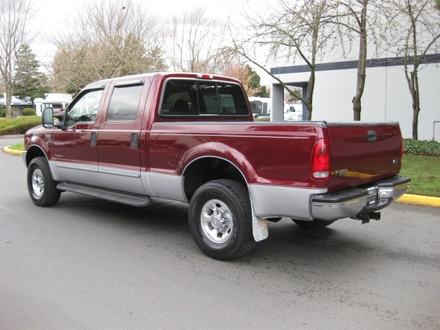 1999 ford f 250 sd 4x4 crew cab 7 3l turbo diesel leather. Black Bedroom Furniture Sets. Home Design Ideas