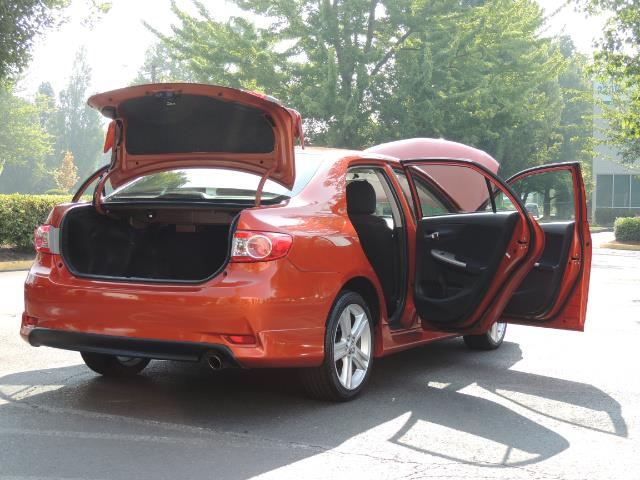 2013 Toyota Corolla S Special Edition , Navigation, Spoiler , Excel Co - Photo 28 - Portland, OR 97217