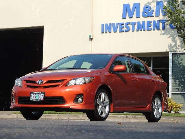 2013 Toyota Corolla S Special Edition , Navigation, Spoiler , Excel Co - Photo 45 - Portland, OR 97217