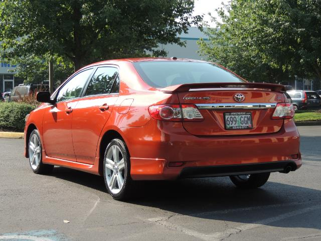 2013 Toyota Corolla S Special Edition , Navigation, Spoiler , Excel Co - Photo 7 - Portland, OR 97217