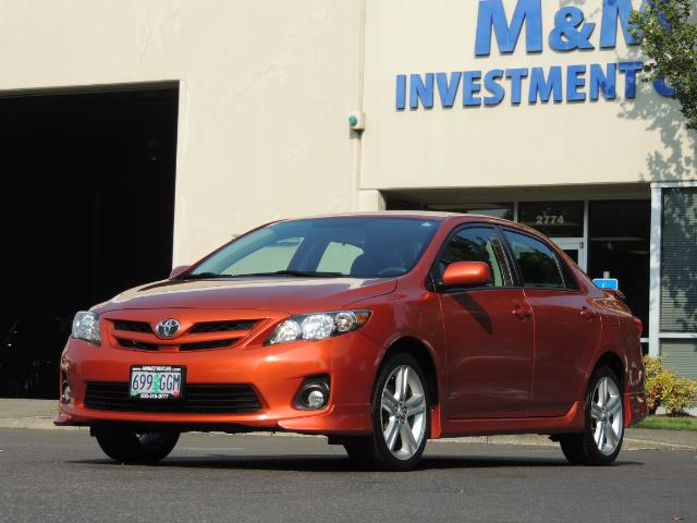 2013 Toyota Corolla S Special Edition , Navigation, Spoiler , Excel Co - Photo 42 - Portland, OR 97217