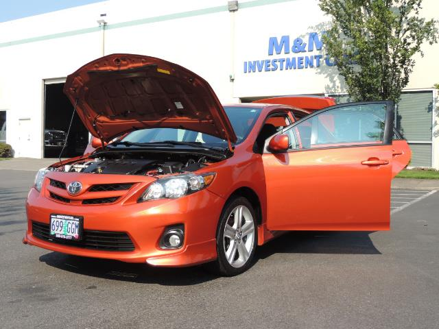 2013 Toyota Corolla S Special Edition , Navigation, Spoiler , Excel Co - Photo 25 - Portland, OR 97217