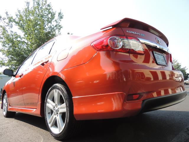 2013 Toyota Corolla S Special Edition , Navigation, Spoiler , Excel Co - Photo 38 - Portland, OR 97217