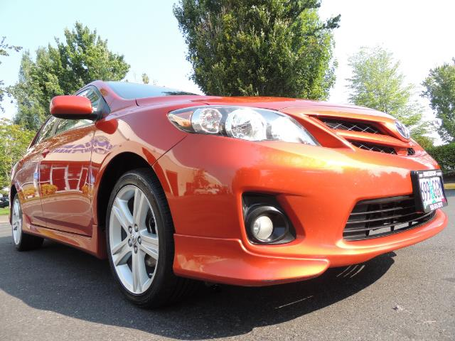 2013 Toyota Corolla S Special Edition , Navigation, Spoiler , Excel Co - Photo 10 - Portland, OR 97217