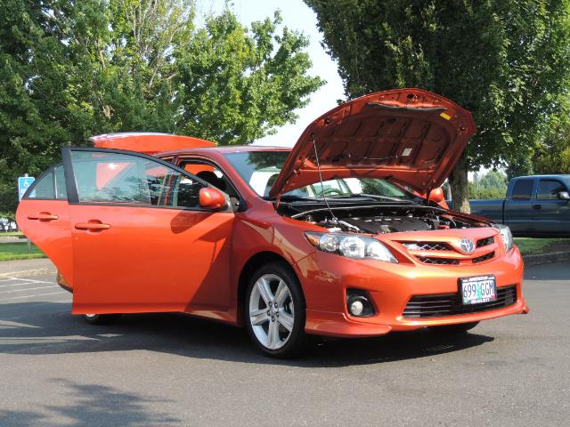 2013 Toyota Corolla S Special Edition , Navigation, Spoiler , Excel Co - Photo 30 - Portland, OR 97217