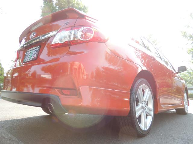 2013 Toyota Corolla S Special Edition , Navigation, Spoiler , Excel Co - Photo 39 - Portland, OR 97217