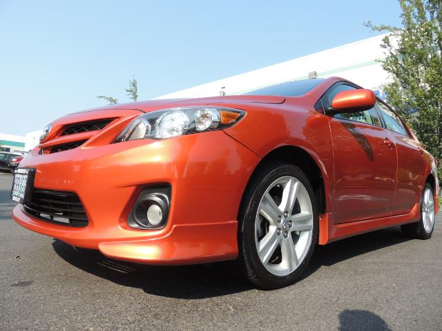 2013 Toyota Corolla S Special Edition , Navigation, Spoiler , Excel Co - Photo 9 - Portland, OR 97217