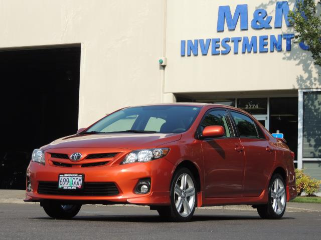 2013 Toyota Corolla S Special Edition , Navigation, Spoiler , Excel Co - Photo 41 - Portland, OR 97217
