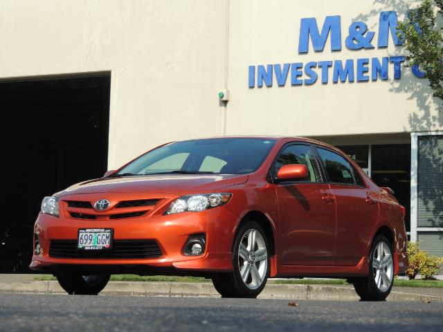 2013 Toyota Corolla S Special Edition , Navigation, Spoiler , Excel Co - Photo 40 - Portland, OR 97217