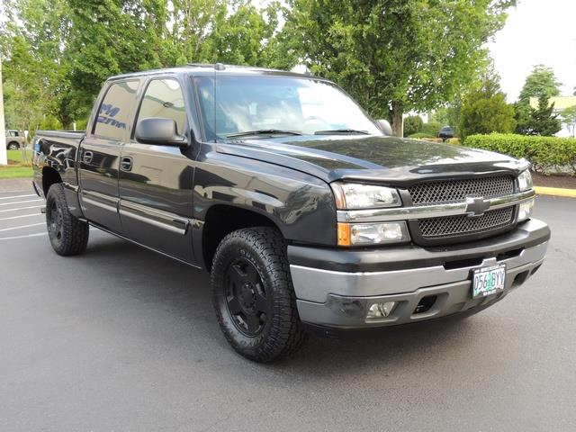 2005 chevrolet silverado 1500 lt 4dr crew cab 4x4 leather sunroof. Black Bedroom Furniture Sets. Home Design Ideas