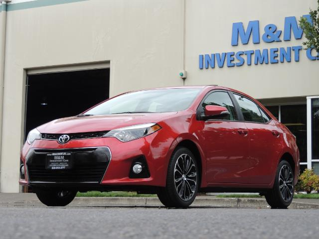 2016 Toyota Corolla S Plus / Back up camera / Sunroof / Spoiler - Photo 43 - Portland, OR 97217