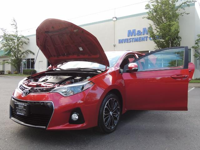 2016 Toyota Corolla S Plus / Back up camera / Sunroof / Spoiler - Photo 25 - Portland, OR 97217