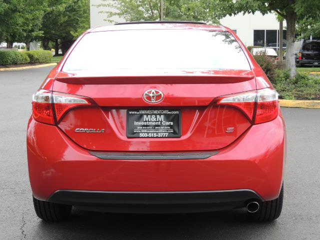2016 Toyota Corolla S Plus / Back up camera / Sunroof / Spoiler - Photo 6 - Portland, OR 97217