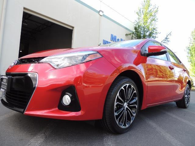 2016 Toyota Corolla S Plus / Back up camera / Sunroof / Spoiler - Photo 9 - Portland, OR 97217
