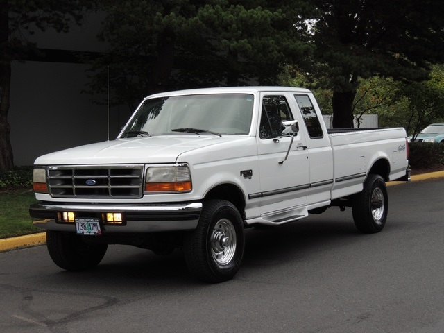 1996 Ford F-250 XLT/4X4/ 7.3L Turbo Diesel / Long Bed / Runs Excel - Photo 35 - Portland, OR 97217