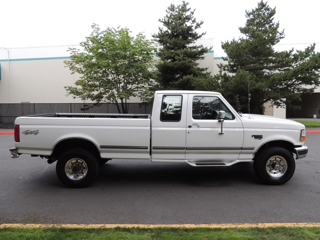 1996 Ford F-250 XLT/4X4/ 7.3L Turbo Diesel / Long Bed / Runs Excel - Photo 4 - Portland, OR 97217