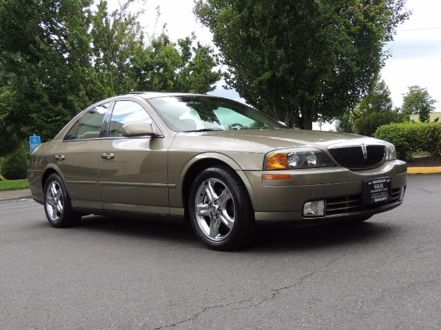 2002 Lincoln LS Luxury Sedan / Leather/ Heated Seats / Low Miles - Photo 2 - Portland, OR 97217