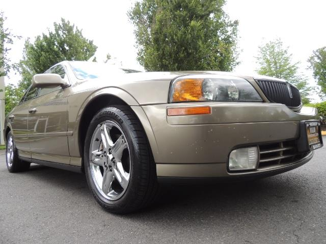 2002 Lincoln LS Luxury Sedan / Leather/ Heated Seats / Low Miles - Photo 10 - Portland, OR 97217