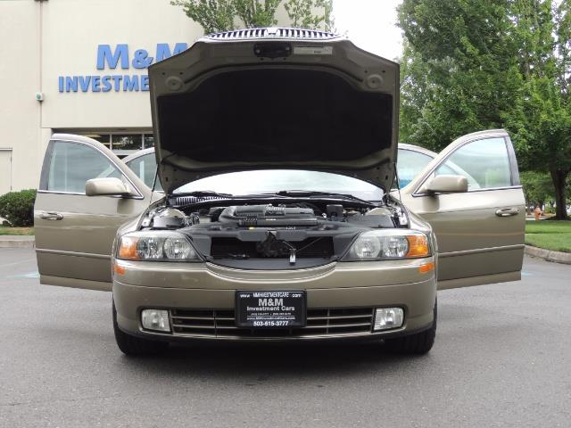 2002 Lincoln LS Luxury Sedan / Leather/ Heated Seats / Low Miles - Photo 32 - Portland, OR 97217