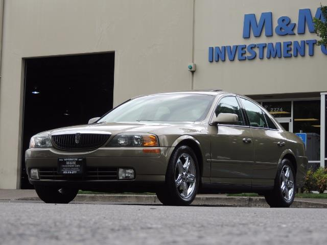 2002 Lincoln LS Luxury Sedan / Leather/ Heated Seats / Low Miles - Photo 43 - Portland, OR 97217