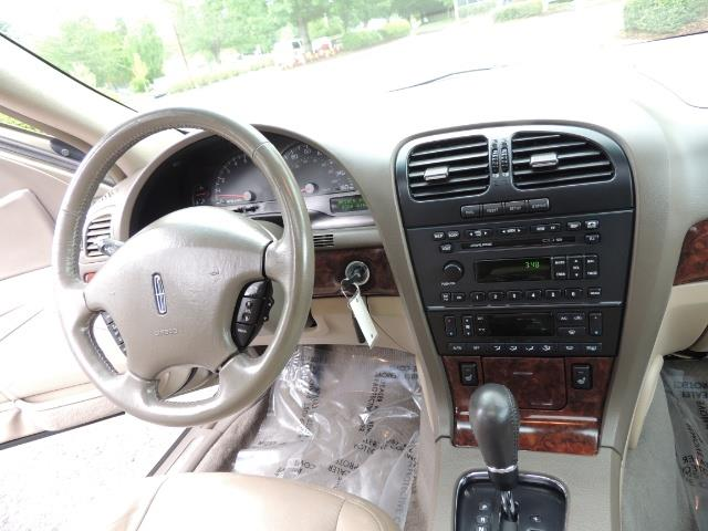2002 Lincoln LS Luxury Sedan / Leather/ Heated Seats / Low Miles - Photo 20 - Portland, OR 97217
