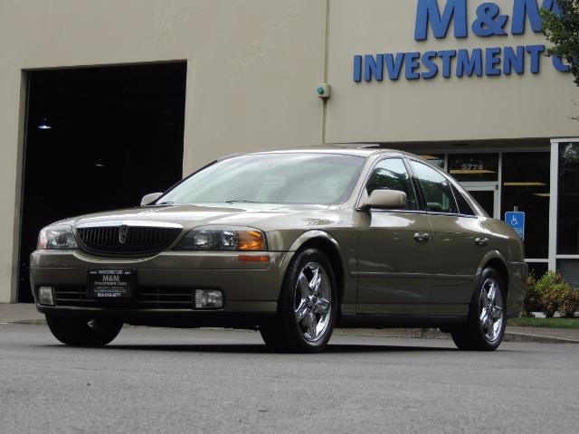 2002 Lincoln LS Luxury Sedan / Leather/ Heated Seats / Low Miles - Photo 34 - Portland, OR 97217