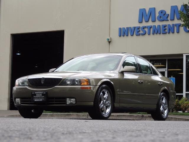 2002 Lincoln LS Luxury Sedan / Leather/ Heated Seats / Low Miles - Photo 44 - Portland, OR 97217